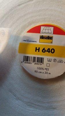 H  640 Tynn vatt med Lim
