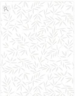 """White on White leavs  Essentials WP Studio 108"""""""