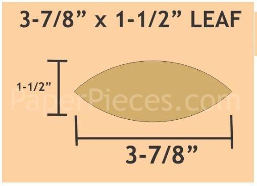 """Leaf 30 stk 3-7/8x 1-1/2"""""""