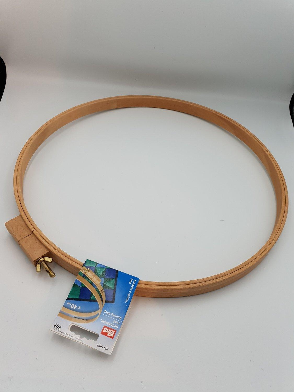Quilteramme treverk 40 cm