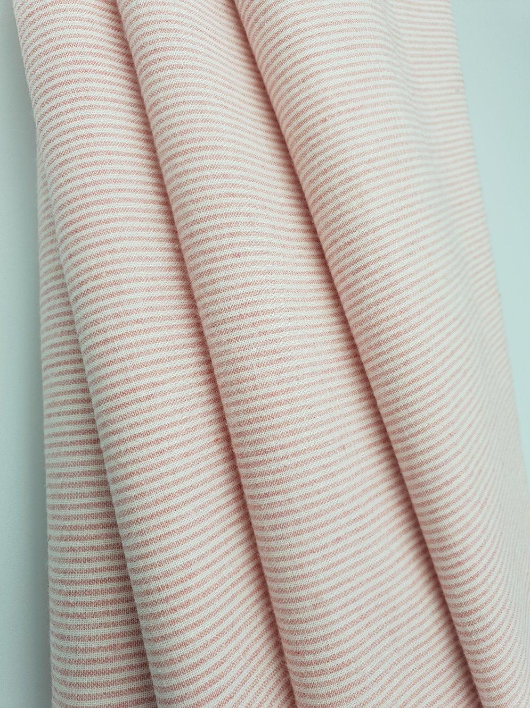 Lecian Chambray Stripete Rosa