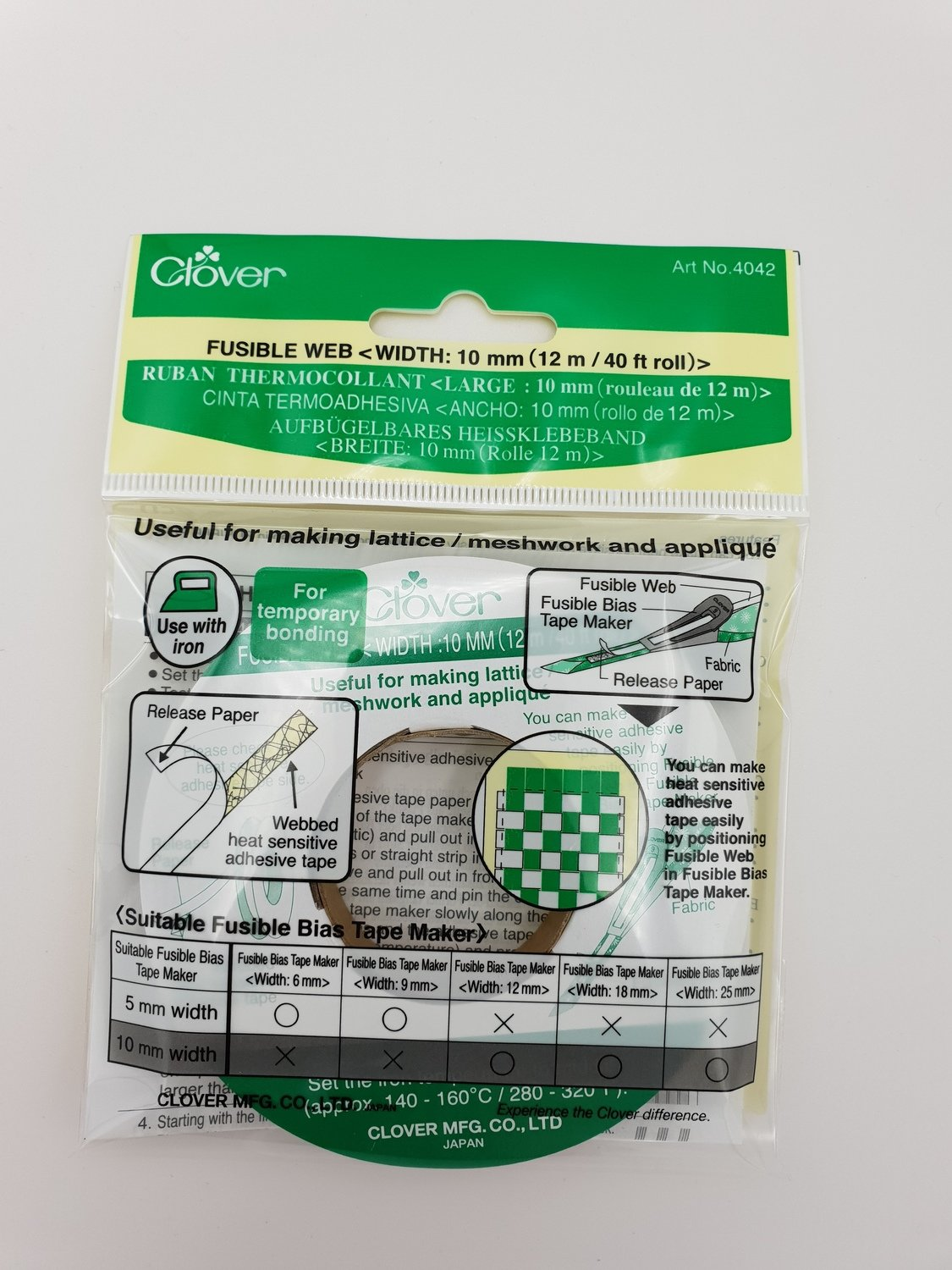 Clover Fusible Web 10 mm