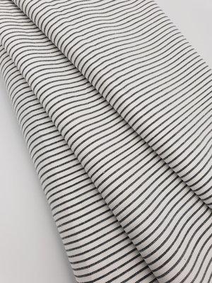 Oxford wowen Blå striper