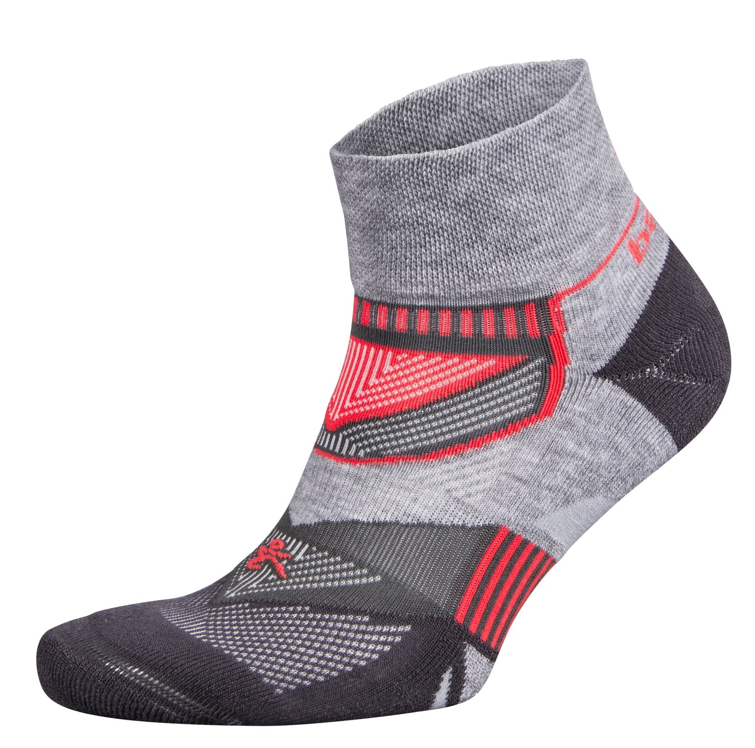 Enduro Quarter Socks MidGrey/Carbon