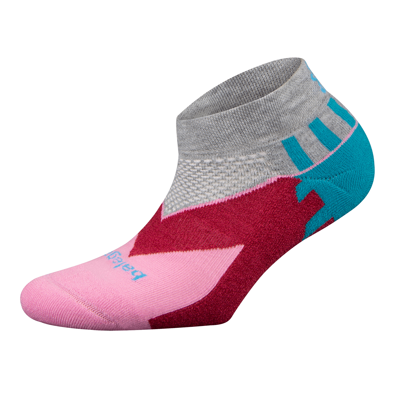 Enduro Low Cut in Pink/Grey