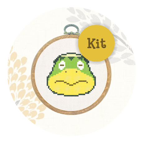 July Special! Cross stitch kit - Kapp'n