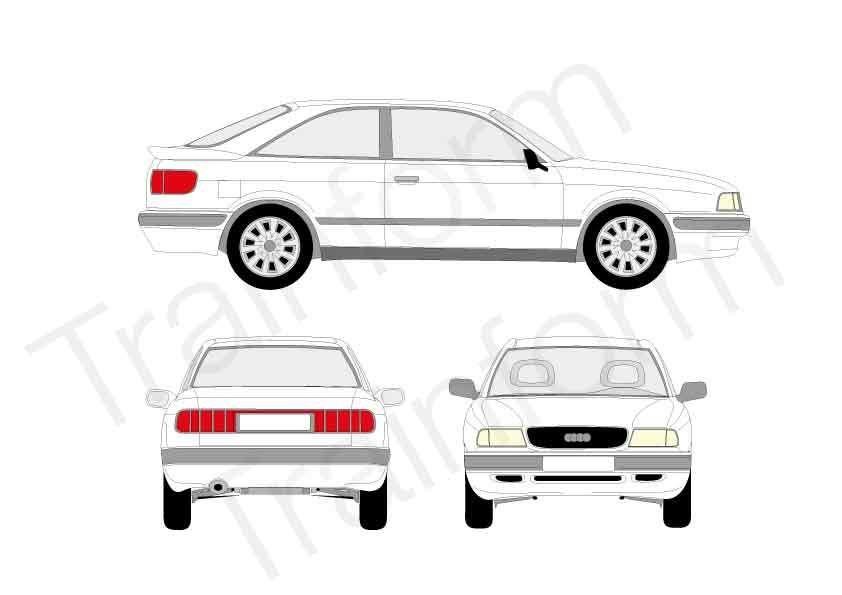 Audi 80 Coupé 1991