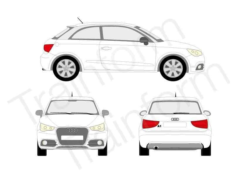 Audi A1 3P 2010