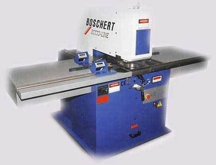 Boschert EL 300 Manual Punching Machine