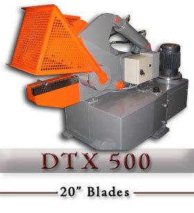 DTX 500  Hydraulic Alligator Scrap Shear c/w hydraulic hold
