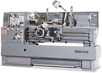 Swing High Speed Precision Lathe - Model 1640L/LV, 1660L/LV, 1860L/LV and 1880L/LV