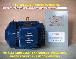 25HP CNC/EDM Rotary Phase Converter