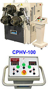 CPHV-100 -3 Roll Double Pinch Universal Bending Machine