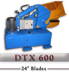 DTX 600 Hydraulic Alligator Scrap Shear c/w hydraulic hold