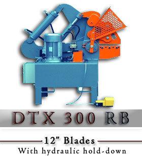 DTX 300RB Hydraulic Alligator Scrap Shear c/w hydraulic hold