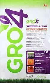 Certified Organic Worm Castings 20L Bag