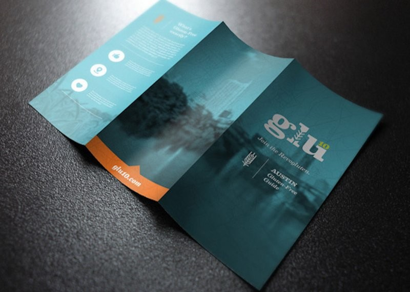 Brochures/Menus - Full Page - Folded - 8.5