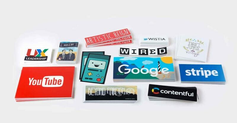 4mil Matte Vinyl Stickers (Business Card Size)