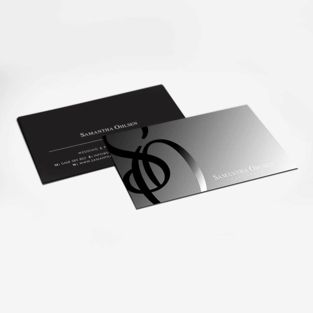 Standard Business Cards with Spot UV (Spot Gloss)