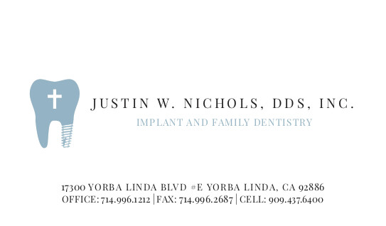 Justin Nichols - Business Cards - Reprint