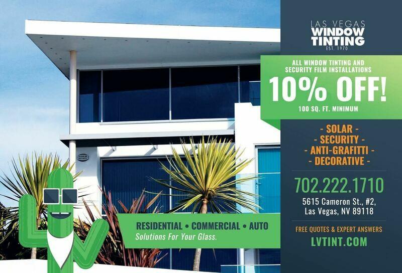 Las Vegas Window Tinting - Custom Order