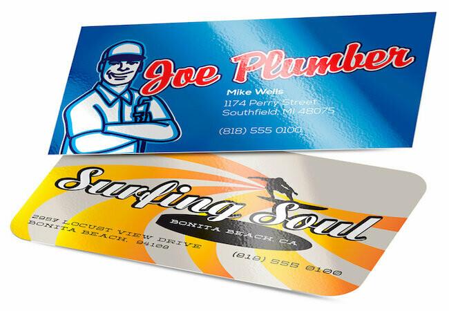 Standard Gloss Business Cards