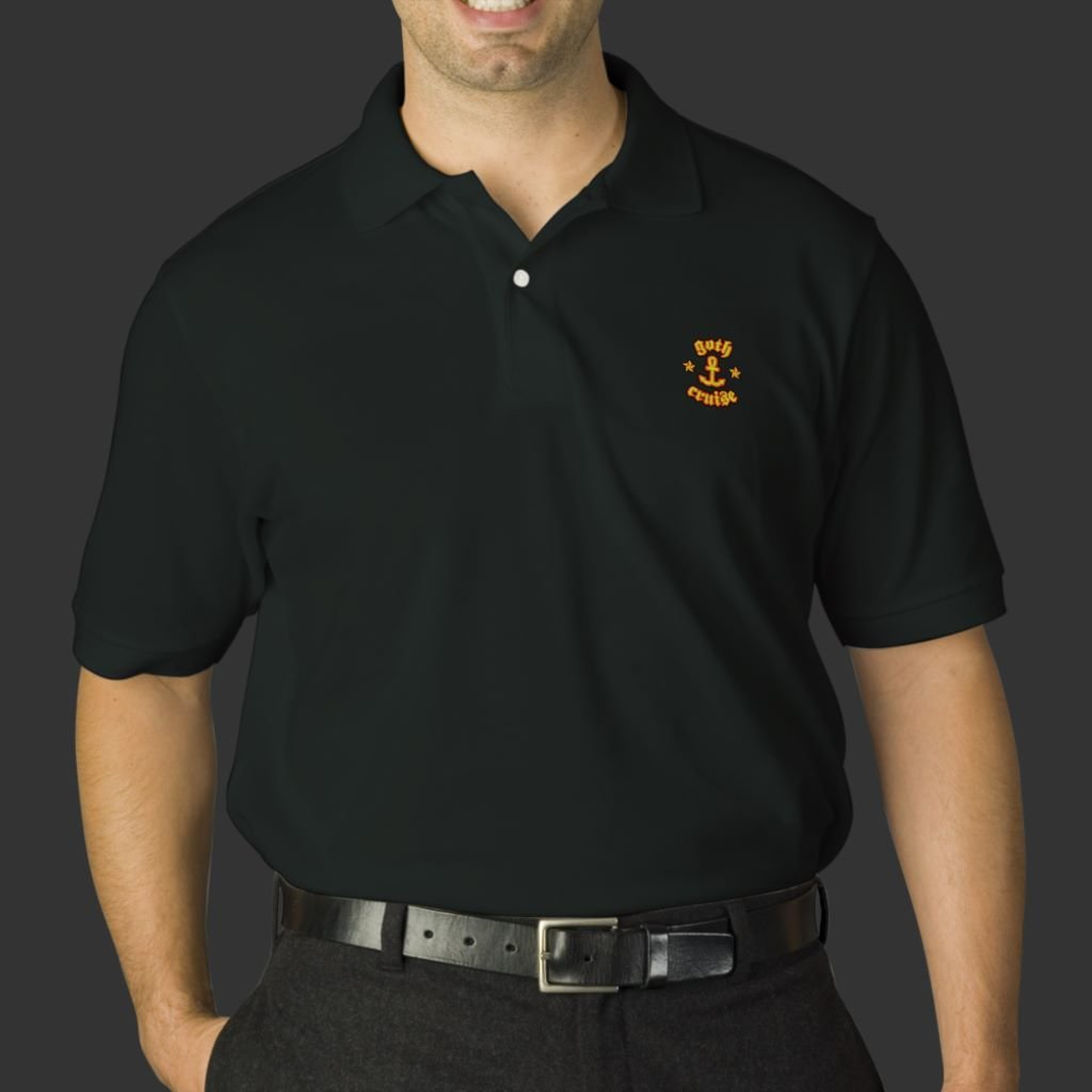 Polos - Full Color Embroidery - 1 Color Shirt (Currently on Backorder)