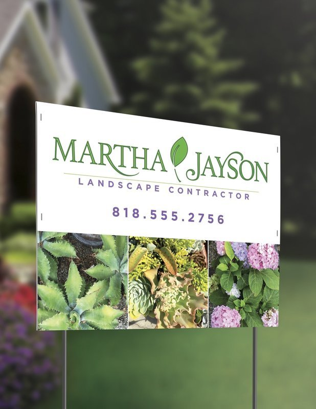 10mm - Corrugated Plastic with Optional Stands (Yard Signs)
