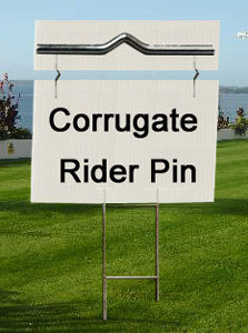 4mm - Mini Corrugated Plastic with Optional Stands (Rider Signs)