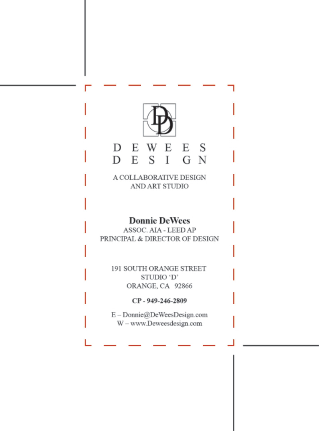 DeWees Design - Custom Order