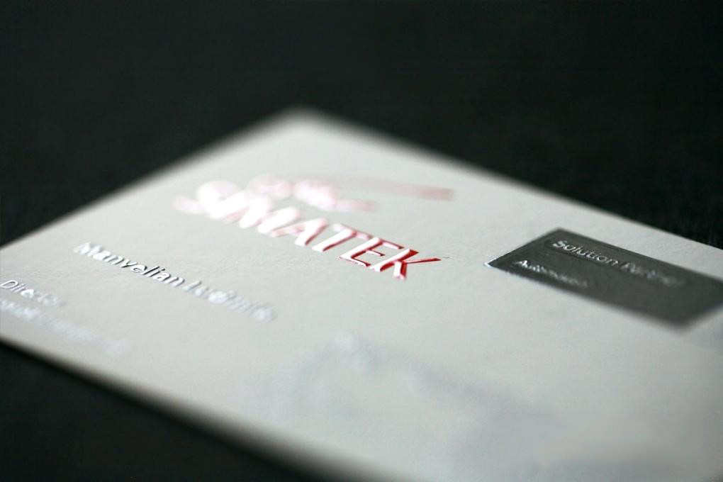110# (15pt) Strathmore Uncoated Cards With Raised Ink