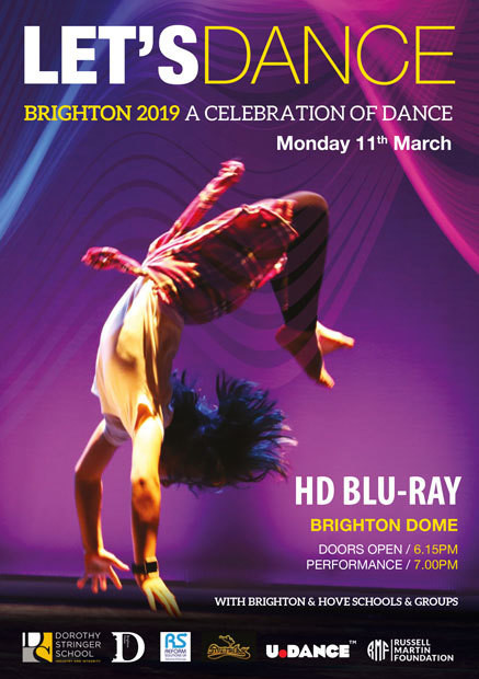 LETS DANCE MONDAY 11th MARCH 2019 BLU RAY DVD (HD)
