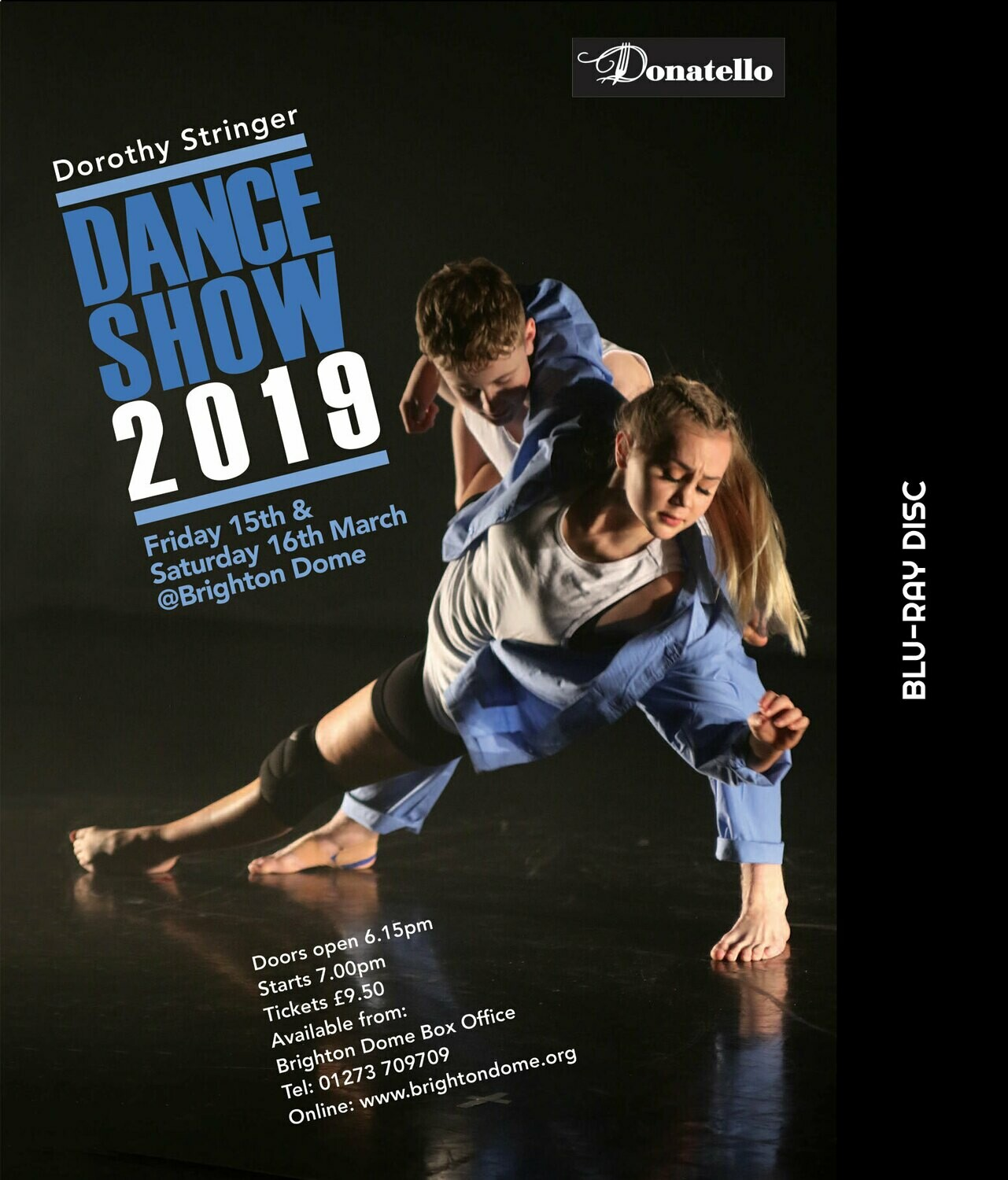 Dorothy Stringer Dance Show BLU RAY DVD 2019 (HD)