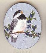 Chickadee Pin