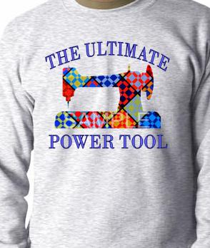 Ash Ultimate Power Tool Sweatshirt, SMALL