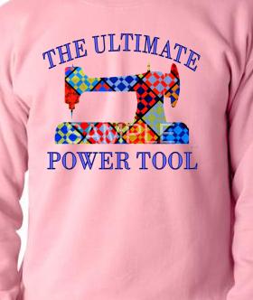 Pink Ultimate Power Tool Sweatshirt SMALL
