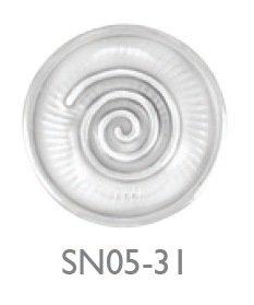 SNAIL SHELL WHITE
