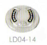 LD00414 RAISED HORSESHOE