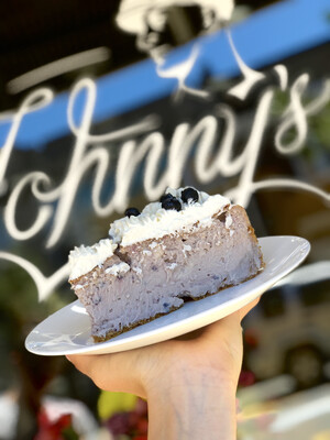 Blueberry Goat cheese Cheesecake