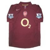 Arsenal Home Jersey #14 Henry Jersey  2005-06 (Replica)