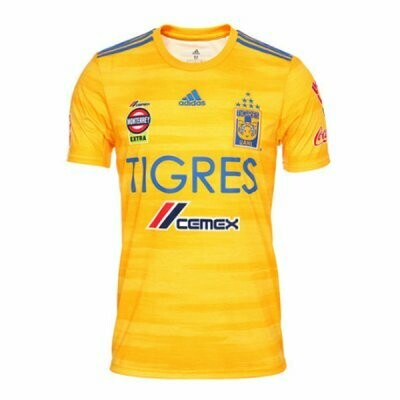 Adidas Tigres UANL Official Home Jersey Shirt 19/20 (7 Star edition)