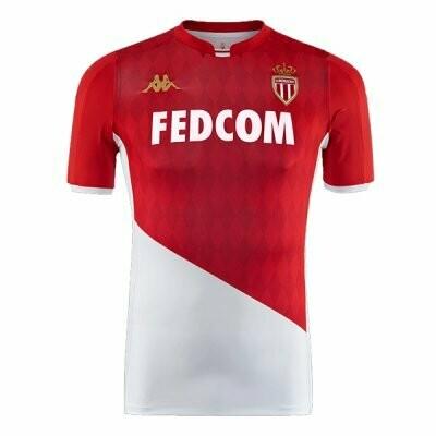 Kappa AS Monaco Official Home Jersey Shirt 19/20