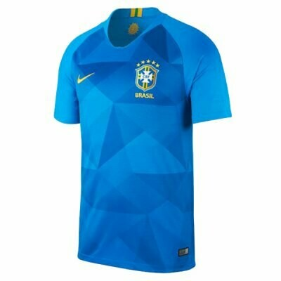 Nike Brazil Official Away Jersey Shirt 2018