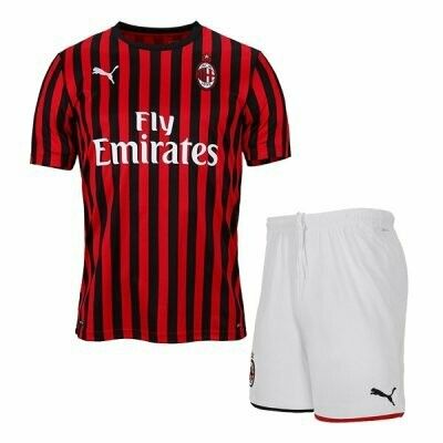 Puma AC Milan Official Home Soccer Jersey Adult Uniform Kit 19/20
