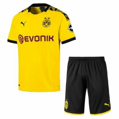 Puma Borussia Dortmund Official Home Soccer Jersey Adult Uniform Kit 19/20