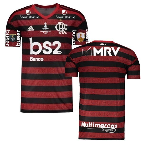 Adidas  CR Flamengo Copa Libertadores Final Jersey Shirt 19/20