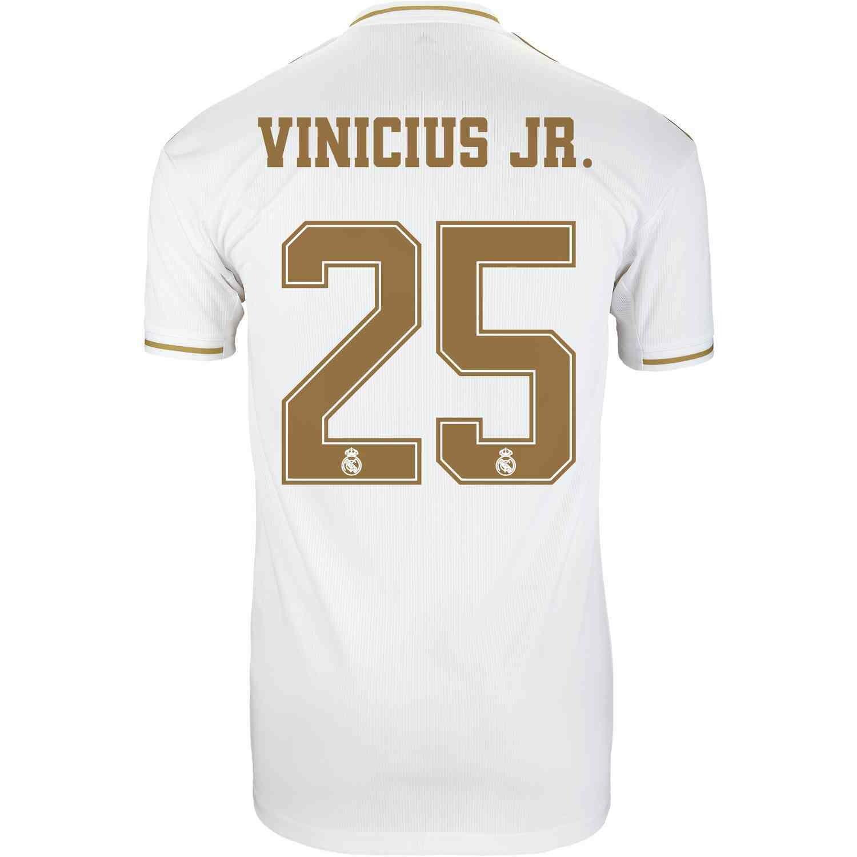 Adidas Real Madrid Vinicius Jr. Jersey 19/20
