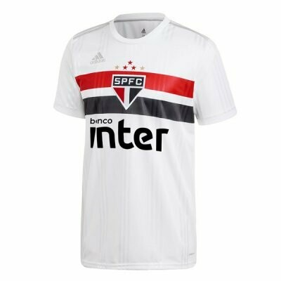 Adidas Sao Paulo FC Official Home Soccer Jersey 20/21