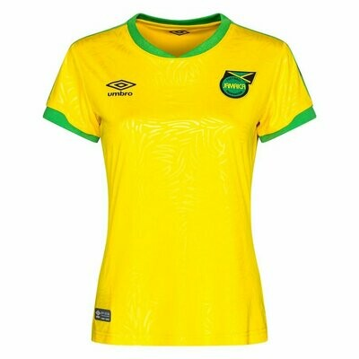 Official Jamaica Women's  Home Jersey Shirt 2019