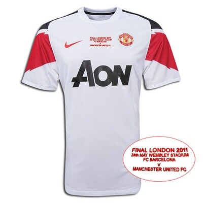 Manchester United Away UCL Final Retro Jersey 2010-11 (Replica)